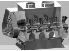 双轴桨叶式混合机